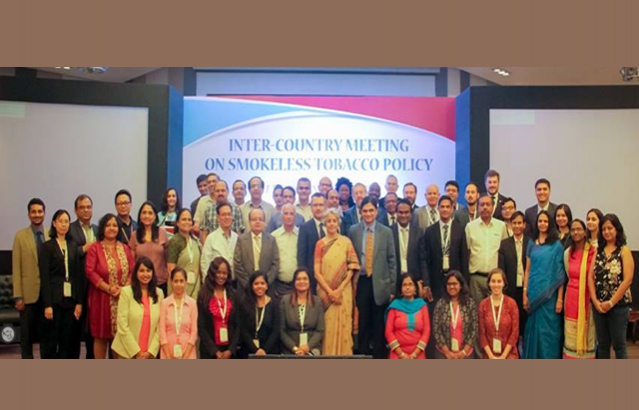 Inter-Country Meeting on Smokeless Tobacco Policy in New Delhi
