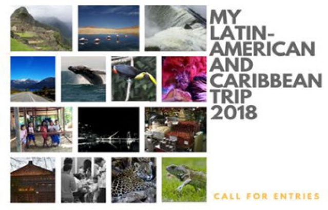 My Latin American and Caribbean Trip Flyer 2018.