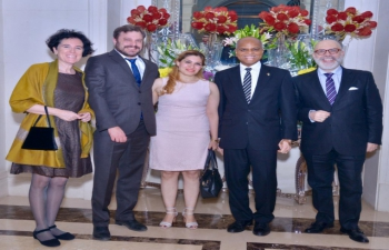 Farewell Reception of Mr. Fernando Martin Abal Barú, First Secretary<br> by the GRULAC Ambassadors.