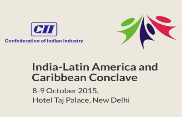 6th India Latin America and Caribbean Conclave from 8-9 October 2015 at Taj Palace Hotel, New Delhi.